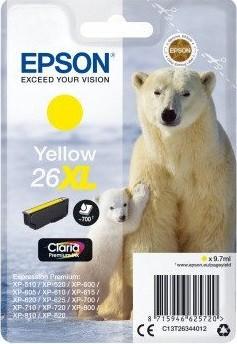 Epson 26XL YE (C13T26344010) OEM
