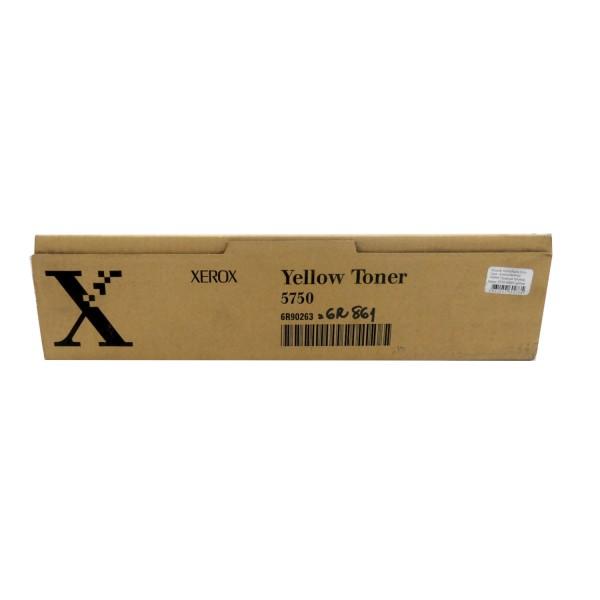 Original Xerox Toner 6R90263 gelb für DocuColor 5750 5759 Neutrale Schachtel