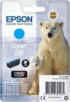 Epson 26 CY (C13T26124010) OEM