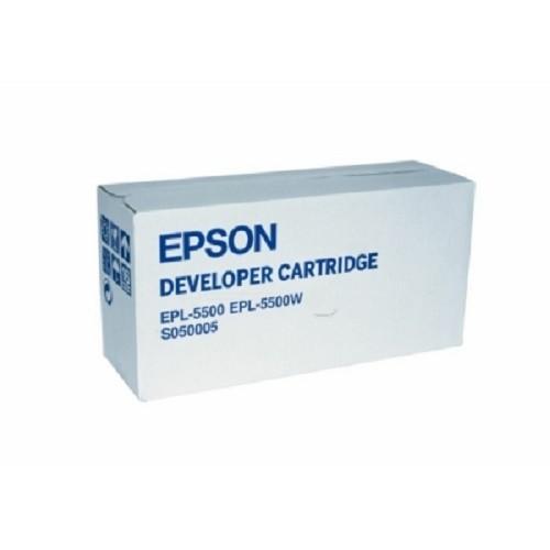 Original Epson Toner C13S050005 schwarz für EPL 5500 Neutrale Schachtel